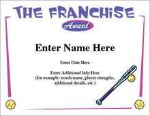 The Franchise Certificate