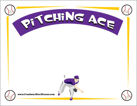 Pitching Ace Award FREE