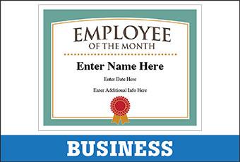 Free Award Certificates Templates - Teachers, Coaches & Business