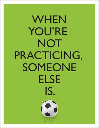 School Soccer Poster