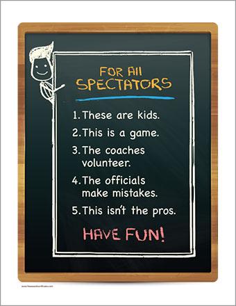 For All Spectators Poster Artwork