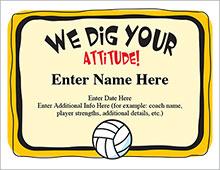 We dig your attitude award