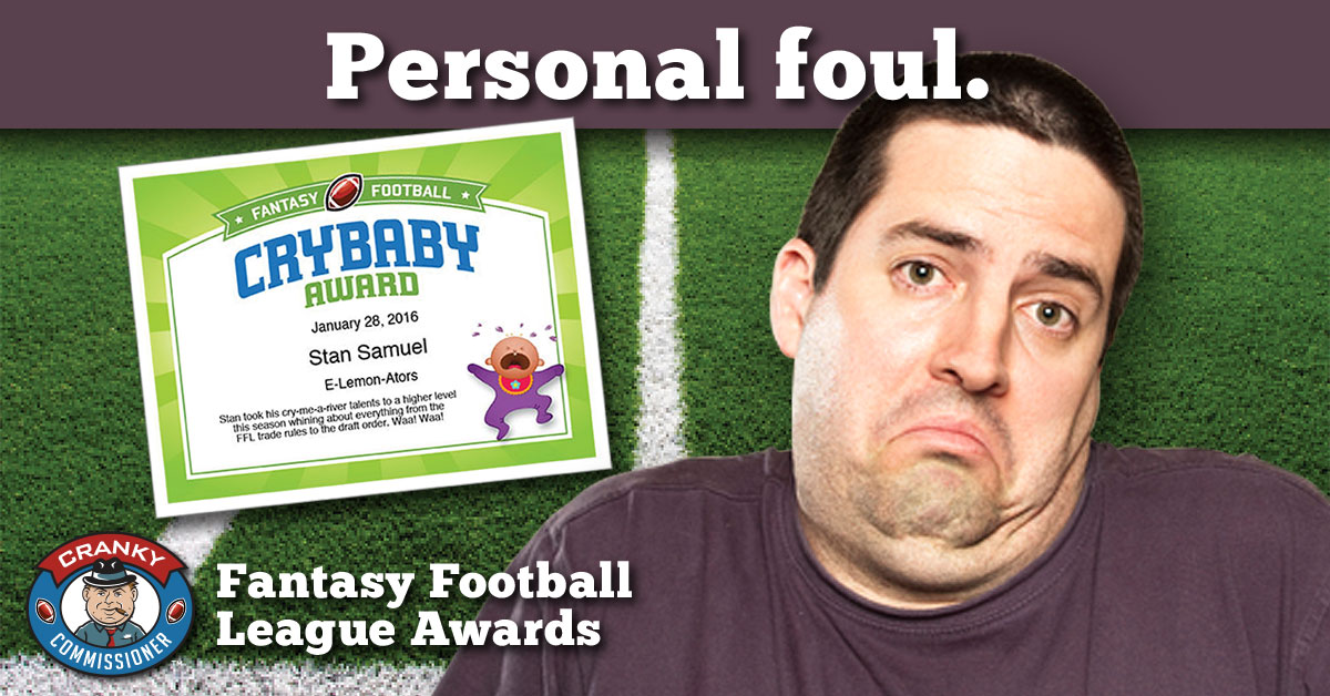 Fantasy Football Award Certificates image