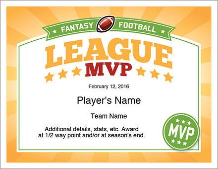 League MVP Award