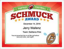 schmuck award