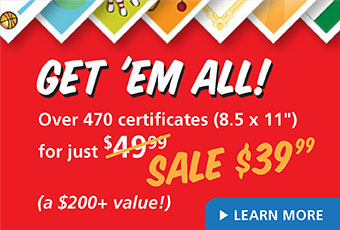 Get 'Em All – Award Certificates Collection