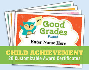 Kids certificate of achievement image