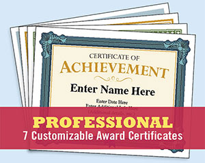 professional certificate image