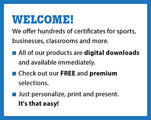 About Free Award Certificates image