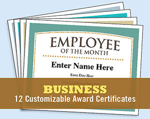 business certificates image