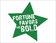 Fortune favors the bold image