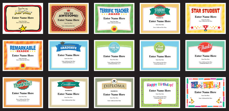 Teacher Awards grid image