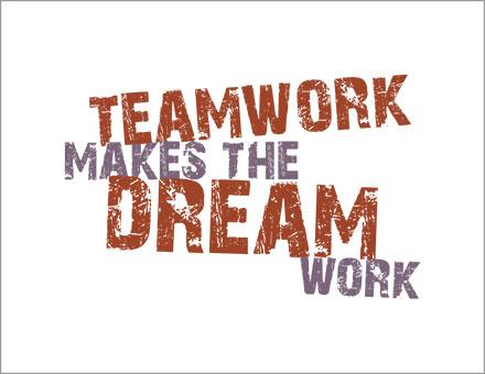 Teamwork makes the Dream Work poster image