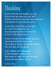 Thinking poem image