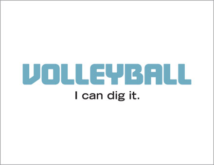 Volleyball I can dig it t-shirt image