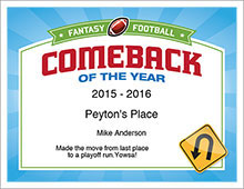 Comeback of the Year image