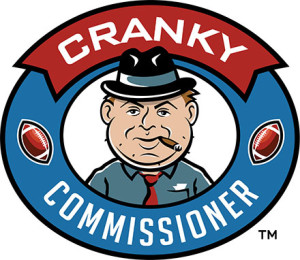 Cranky Commissioner Fantasy Football Awards image