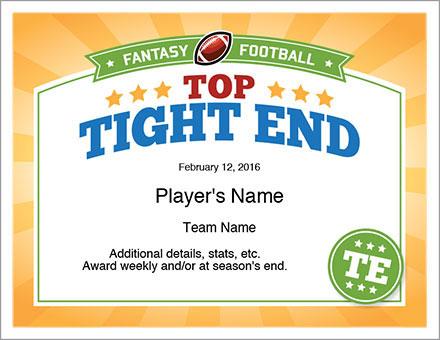 Top Tight End Award