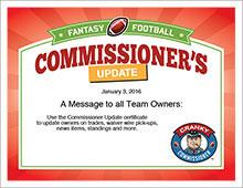 Commissioner's Update image