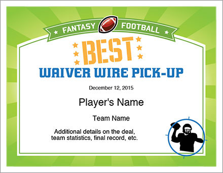 Best Waiver Wire Pick-up