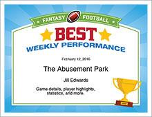 Best Weekly Performance image