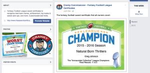 facebook award image