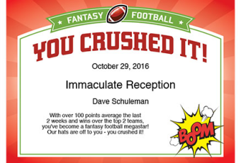 5 Ways to Add Fun to Your Fantasy Football League