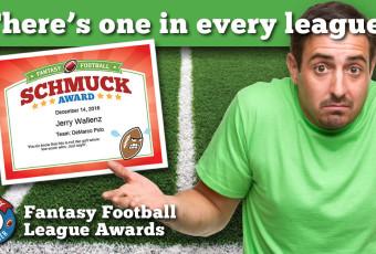Fantasy Football League Awards Launch