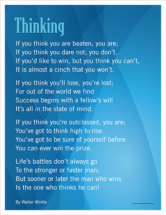 the Thinking Poster image