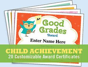 Achievement Certificates for Kids