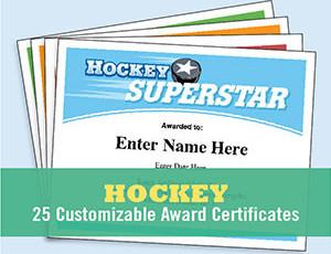 Hockey Certificates
